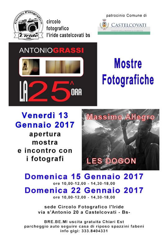 Mostre Fotografiche a Castelcovati