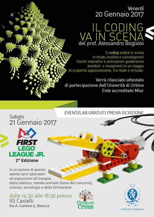 Robot e sScienza a Brescia