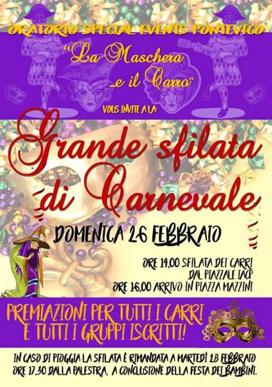 33 Carnevale di Pontevico