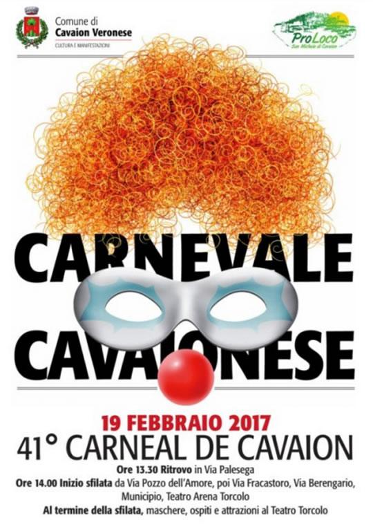 41 Carnevale Cavaionese VR
