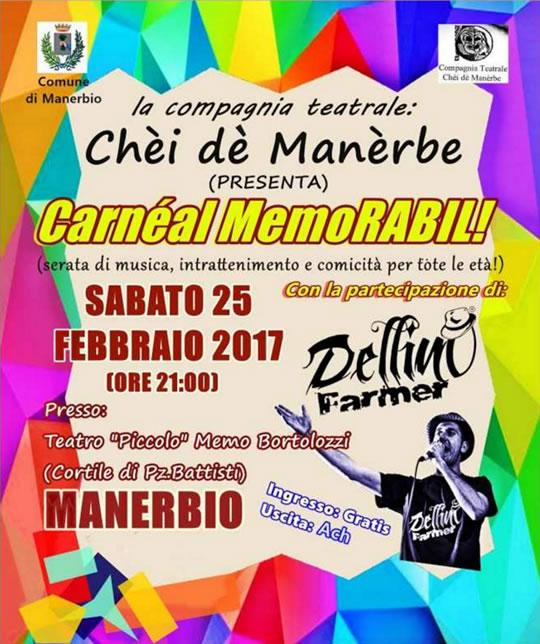 Carneal MemoRabil a Manerbio