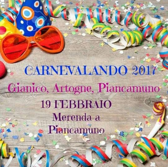 Carnevalando tra Gianico, Artogne e Piancamuno