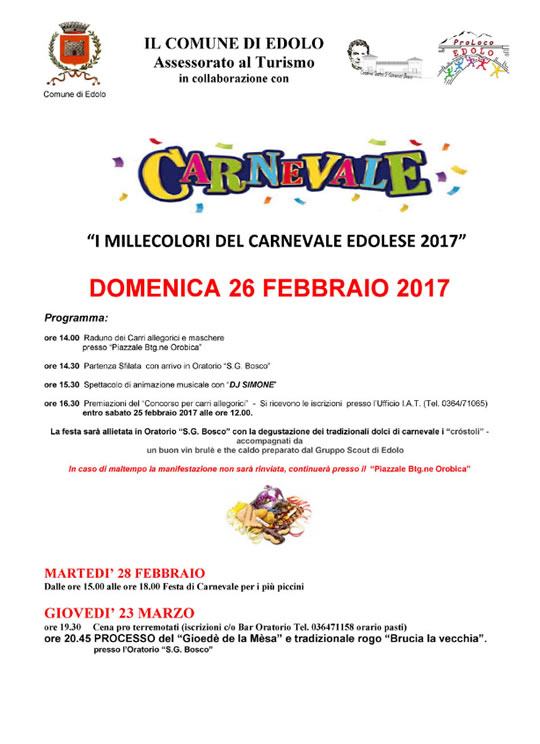 Carnevale Edolese