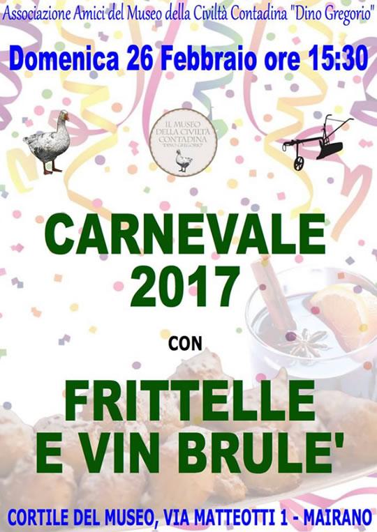 Carnevale al Museo di Mairano