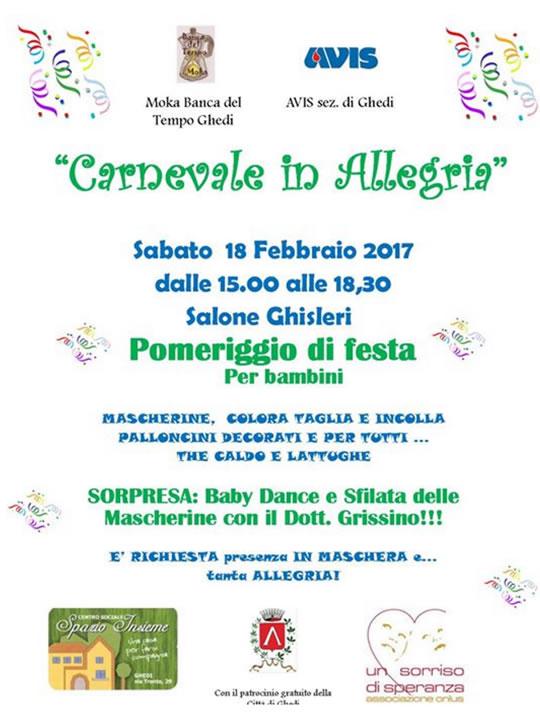 Carnevale in Allegria a Ghedi