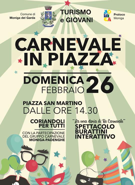 Carnevale in Piazza a Moniga
