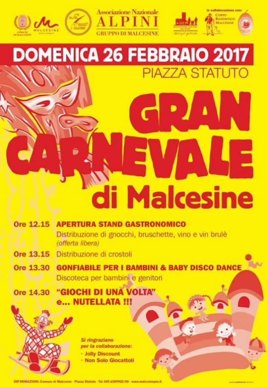 Gran Carnevale a Malcesine VR