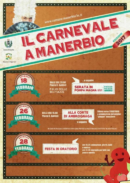Il Carnevale a Manerbio