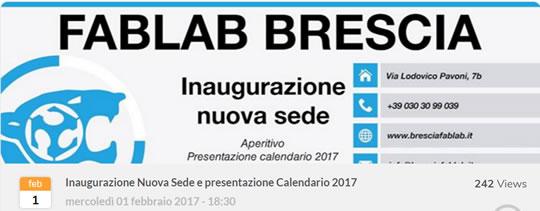 Inaugurazione FabLab Brescia