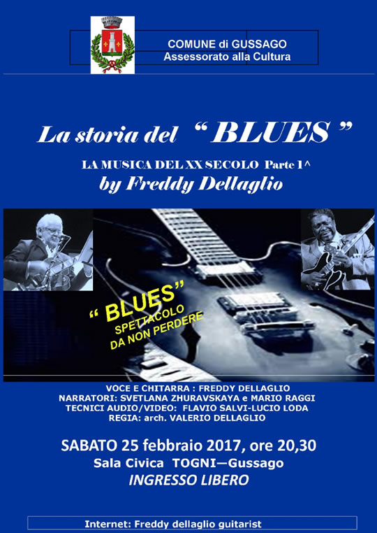 La Storia del Blues a Gussago
