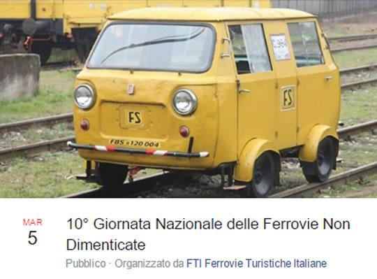 10 Giornata Nazionale delle Ferrovie non Dimenticate a Palazzolo