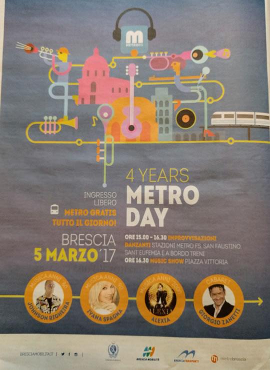 4 Year Metro Day