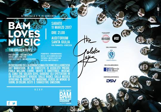 Bam Loves Music a Brescia