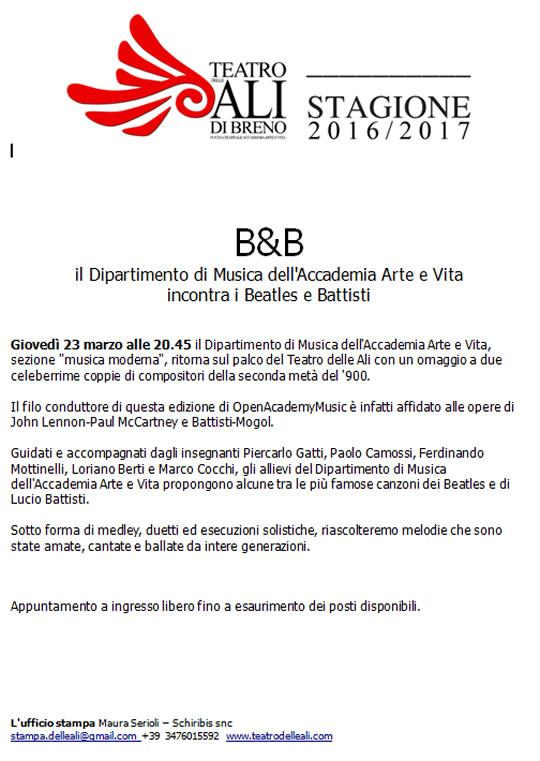 Beatles e Battisti a Breno