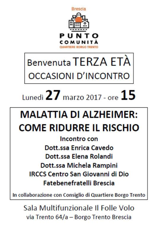 Benvenuta Terza Età a Brescia