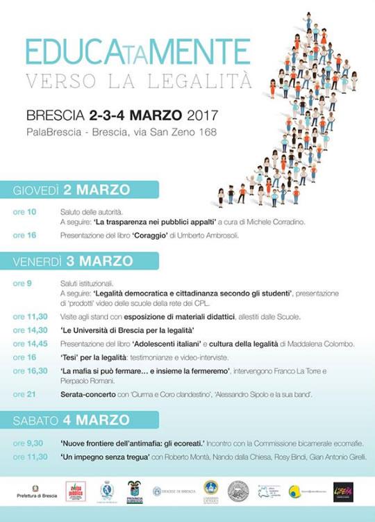 Educatamente Verso la Legalità a Brescia