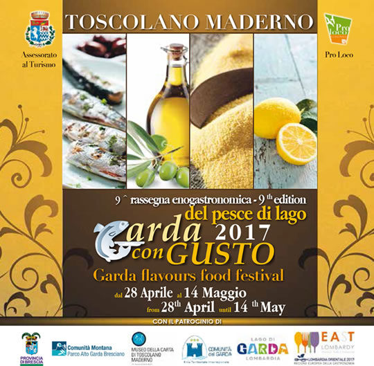 Garda con Gusto 2017 a Toscolano Maderno