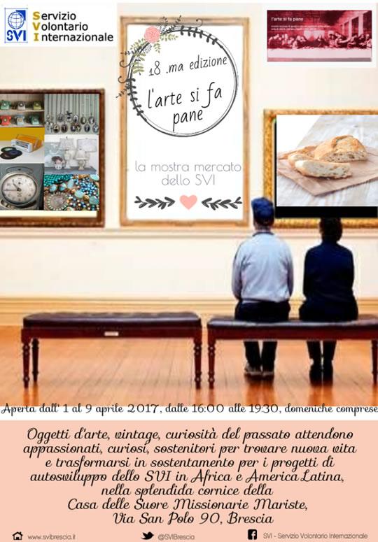 L'Arte si fa Pane a Brescia