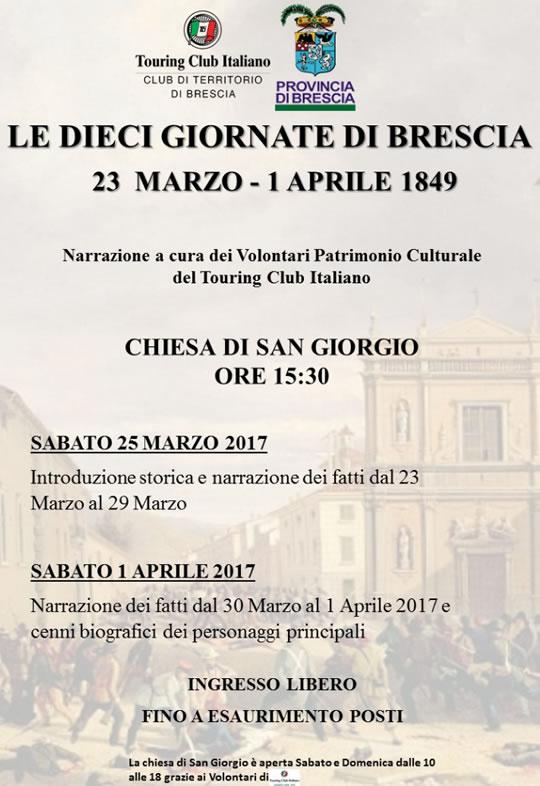 Le X Giornate di Brescia