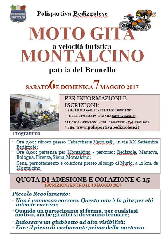 Moto Gita Montalcino