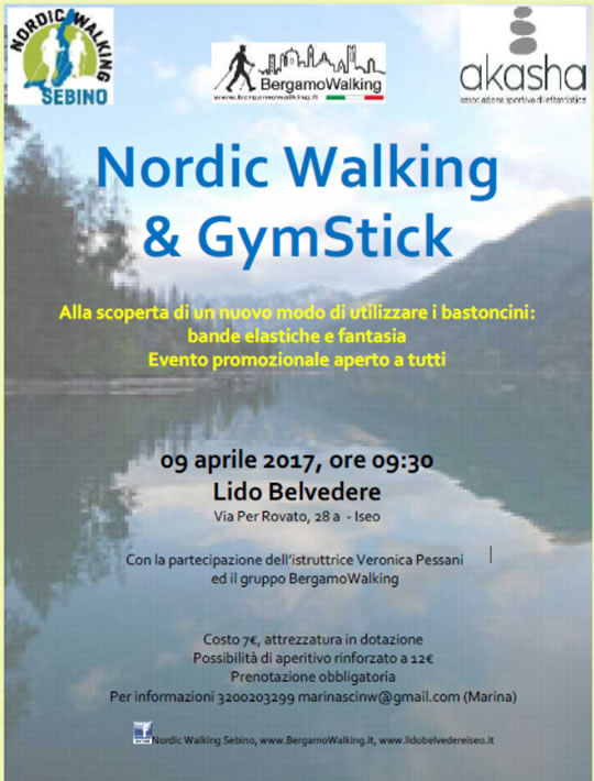 Nordic Walking e GymStick a Iseo
