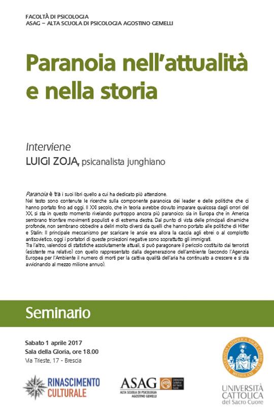Paranoia nell'Attualità e nella Storia a Brescia