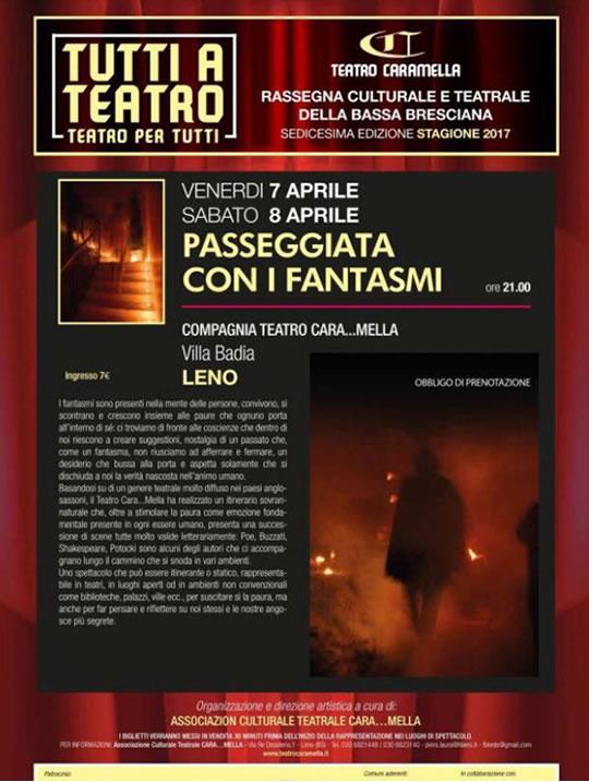 Passeggiata con i Fantasmi a Leno