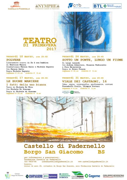 Teatro di Primavera al Castello di Padernello