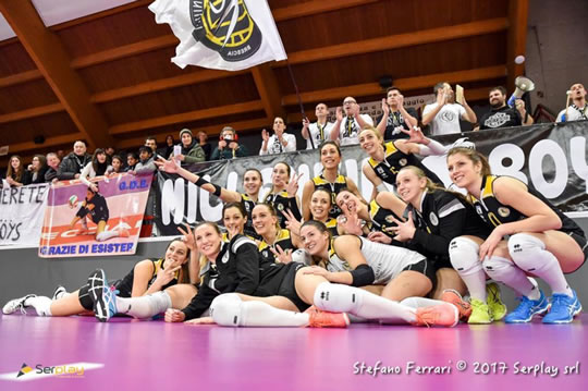 Volley Millenium Brescia vs Lilliput Settimo Torinese a Bagnolo Mella