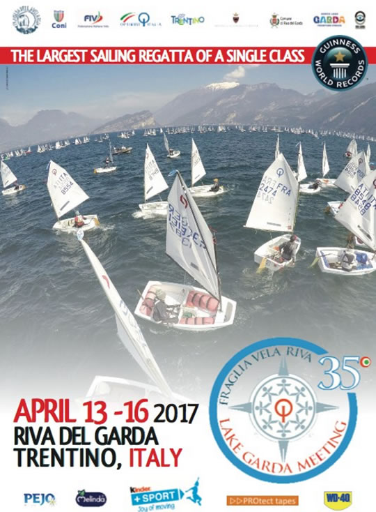 35° Lake Garda Meeting Optimist a Riva del Garda