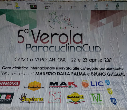 5 Verola ParacyclingCup