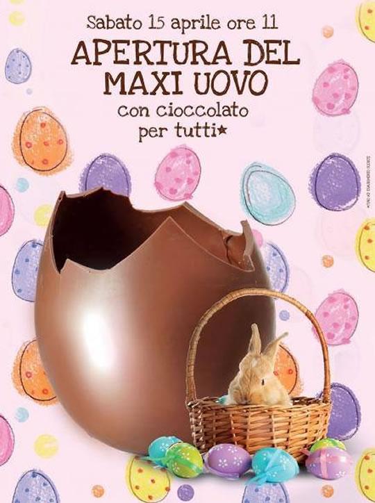 Apertura del Maxi Uovo a Concesio