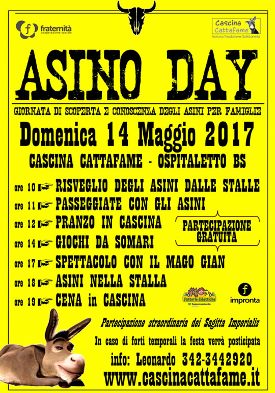 Asino Day a Cascina Cattafame Ospitaletto