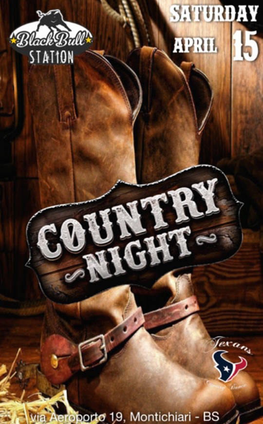 Country Night a Montichiari