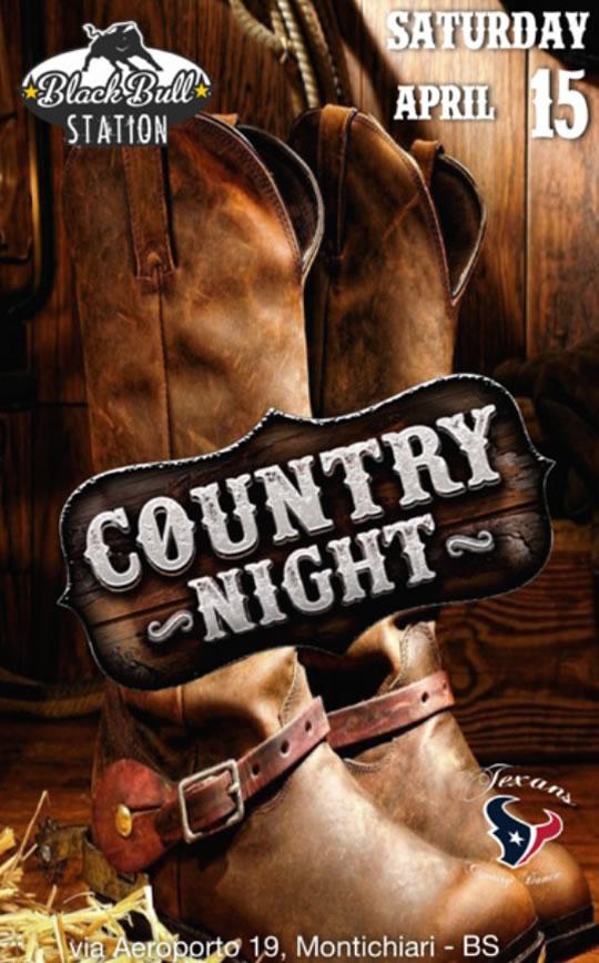 Country Night a Montichiari