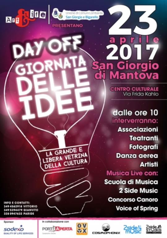 Day Off Giornata delle Idee a Mantova