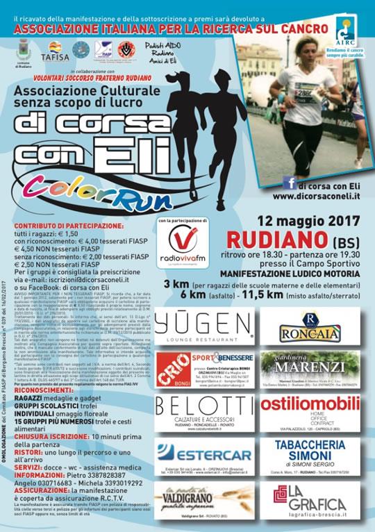 Di Corsa con Eli a Rudiano
