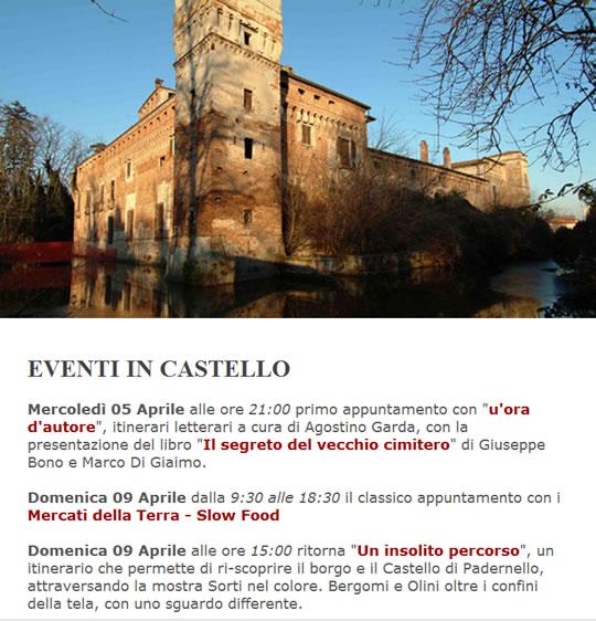 Eventi al Castello di Padernello