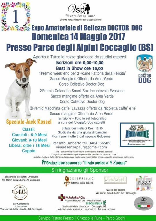 Expo Amatoriale di Bellezza Doctor Dog a Coccaglio