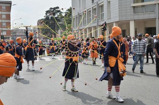 Festa Sikh a Brescia