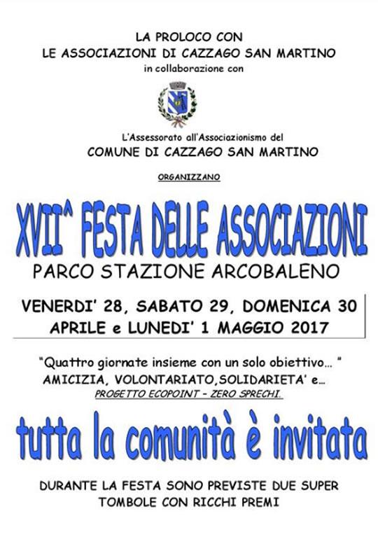 Festa delle Associazioni a Cazzago San Martino