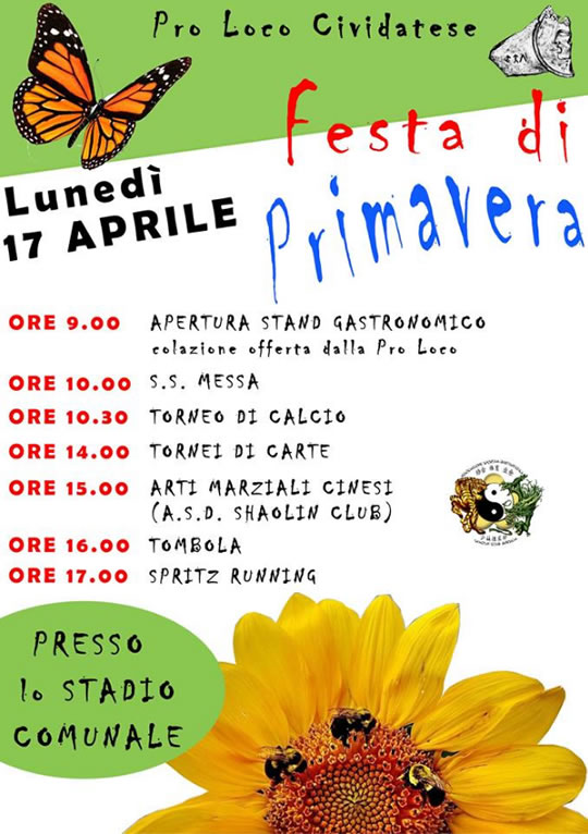 Festa di Primavera a Cividate