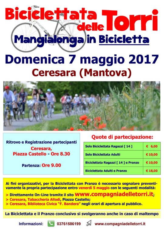 Mangialonga in Bicicletta a Ceresara MN