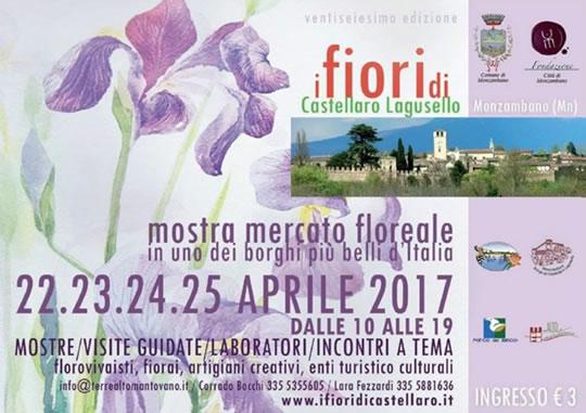 Mostra mercato floreale a Castellaro Lagusello