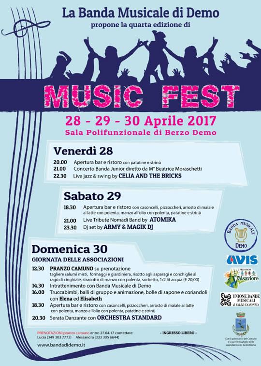 Music Fest a Berzo Demo