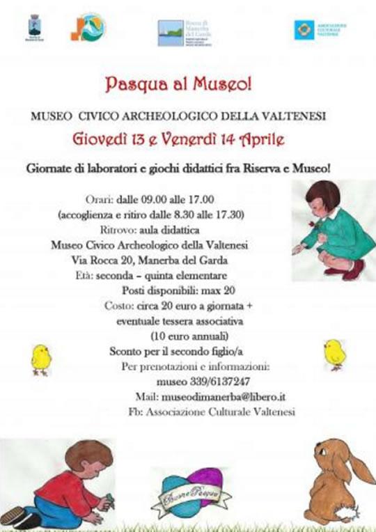 Pasqua al Museo a Manerba del Garda