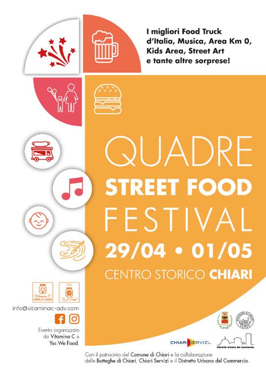 Quadre Street Food Festival a Chiari