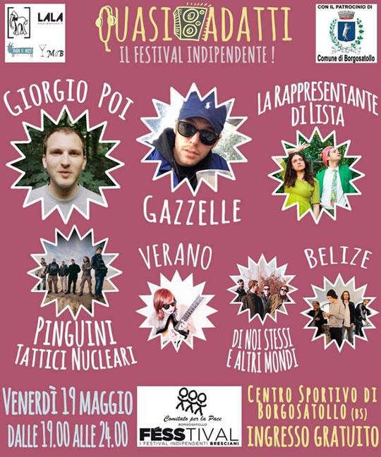 Quasi Adatti Il Festival Indipendente a Borgosatollo