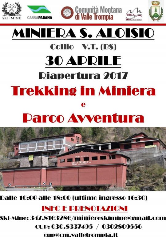 Riapertura Miniera S. Aloisio a Collio VT