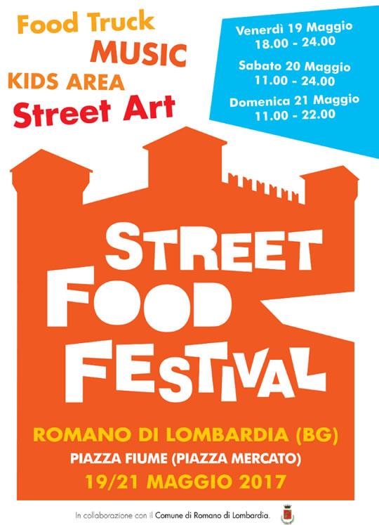 Street Food Festival a Romano di Lombardia BG